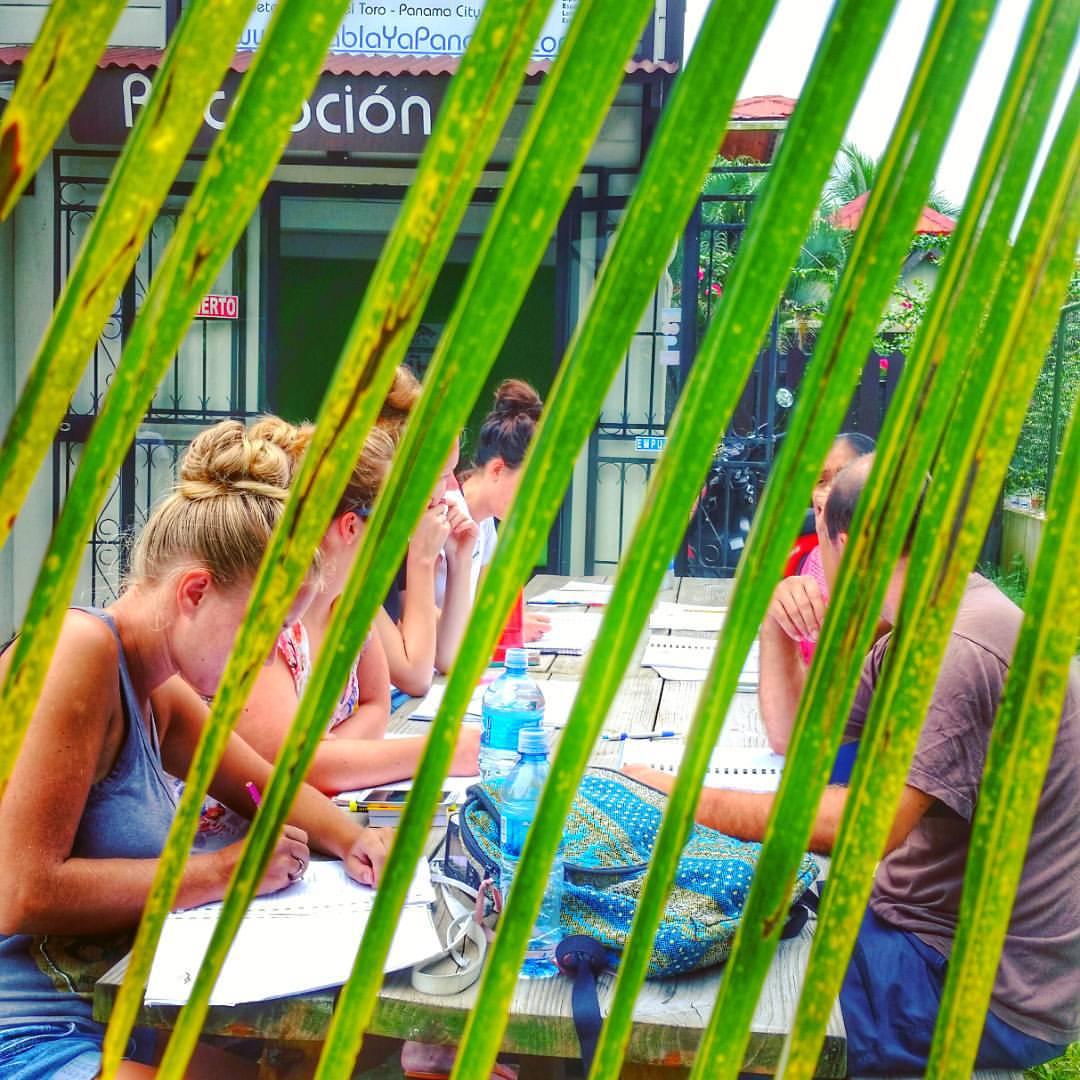 Group Spanish Classes at Habla Ya Bocas del Toro
