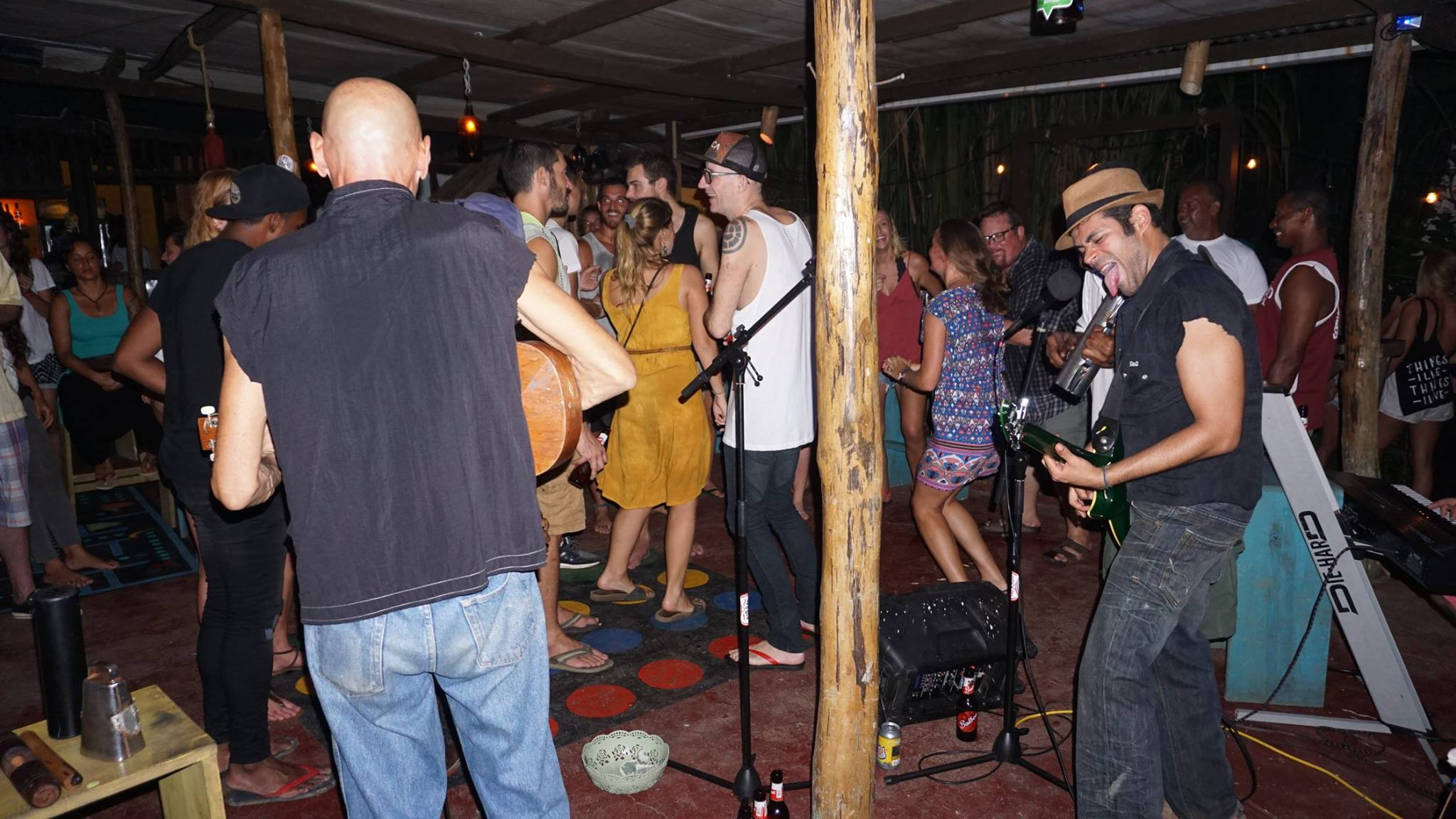 Fusion Latin at Bubbas House in Bastimentos, Bocas del Toro, Panama
