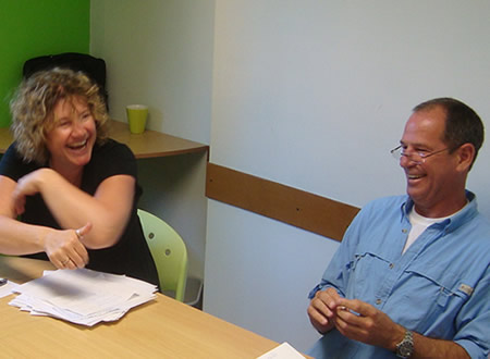 Classes at Habla Ya are always highly practical, lots of conversation is involved and you have loads of fun!