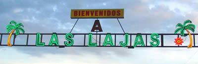 Entrance to Las Lajas Beach