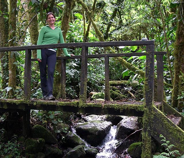 Panama's cloud forests provide a magical setting for Yoga Retreats