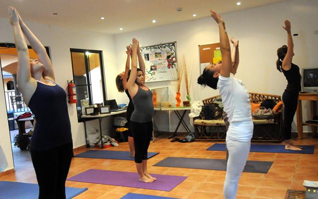 Yoga Class at Habla Ya Boquete