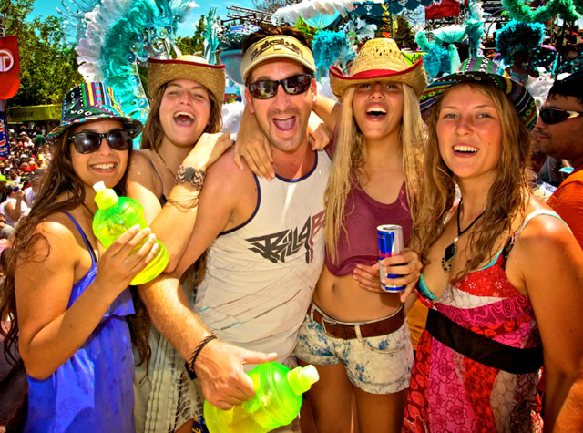 Carnivals are Panama's craziest and wildest party!