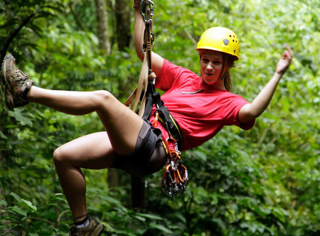 Ziplining was something I never thought I would do during my time in Central America