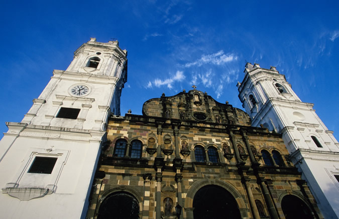 Panama City's Cathedral in Casco Viejo