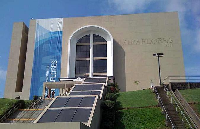 The Miraflores Locks Visitor Center