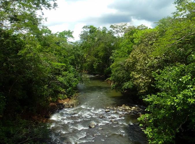 La Barrigona, a minor river arm that leads you to the Rio Chiriqui