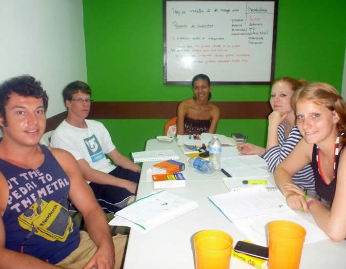 At Habla Ya you will find like minded people who are serious about learning Spanish but also want to have the time of their life!