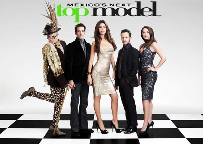 You can look up the episodes of Mexico's Top Model on YouTube or directly on Sony Entertainment's website