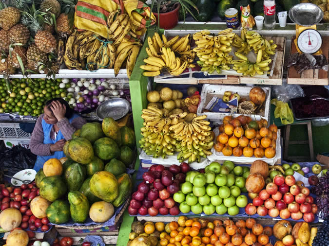 Also, I doubt I will ever be able to eat a pineapple or passion fruit in Europe again – you will never forget the great taste of the fresh veggies and fruit you can get in the local market place.