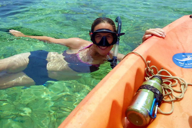 What a better way to explore Bocas del Toro then by kayaking and snorkeling?