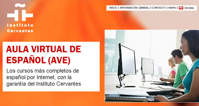As an online Habla Ya student you will have access to the AVE, the Instituto Cervantes' online educational platform, which is a true guarantee in terms of quality Spanish learning