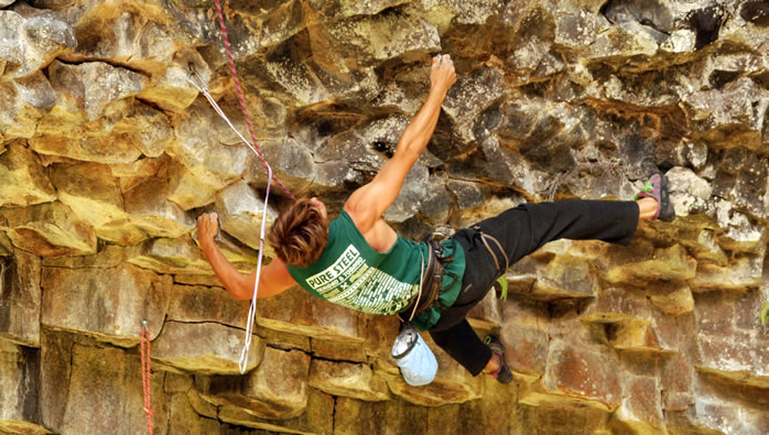 In Boquete there are an abundance of climbing routes thanks to world class rock climber Cesar Melendez