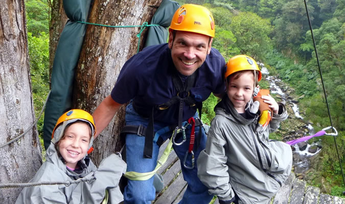 Hey, if the little kids can do the zipline, you can too!