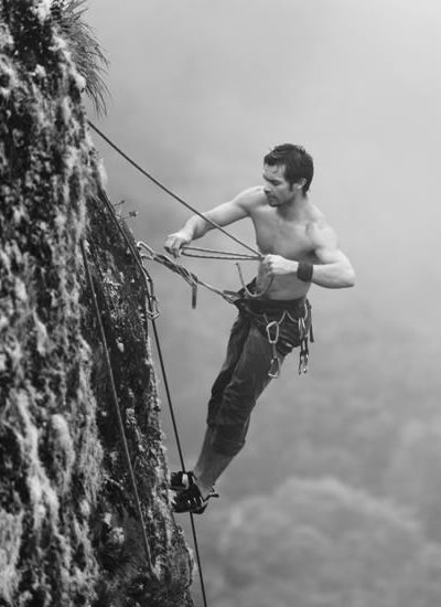 Safety is always paramount when preparing for any climb. Although I free solo many of the routes in Panama, safety comes from skill, training and confidence.