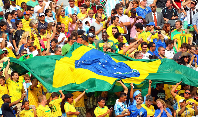 In Panama we'll be joining the fans from all over the world who will be celebrating the 2014 Football (Soccer) World Cup in Brazil