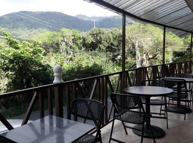 Common balcony in the back part of Casa de la Abuela