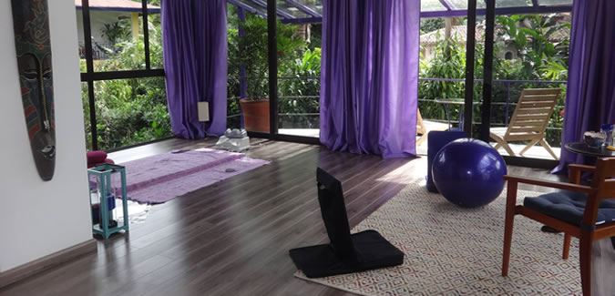 The therapy room at Isla Verde is the perfect spot for your treatments