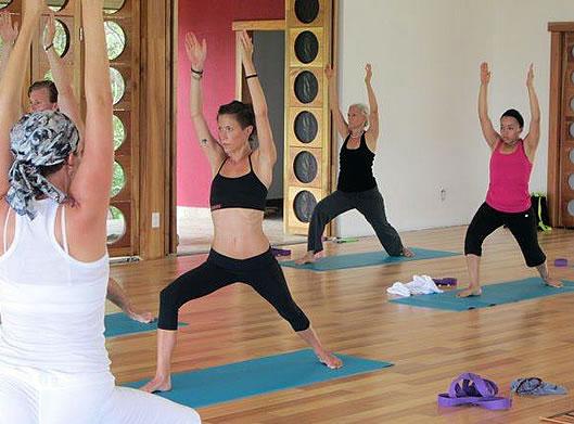 Yoga in Boquete, Panama