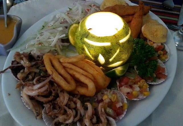 Appetizer at Machu Picchu Restaurant in Boquete, Panama