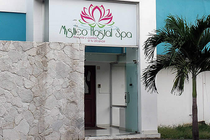 Mystico Hostal is an 8 minute walk from our Spanish school and our students love it as you can enjoy the luxuries of a spa without breaking the bank