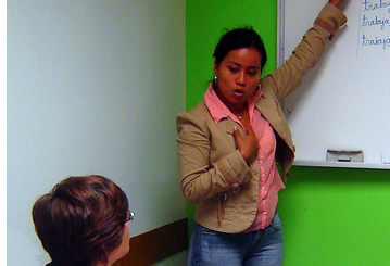 Janeth, Spanish Teacher of Habla Ya Language Center